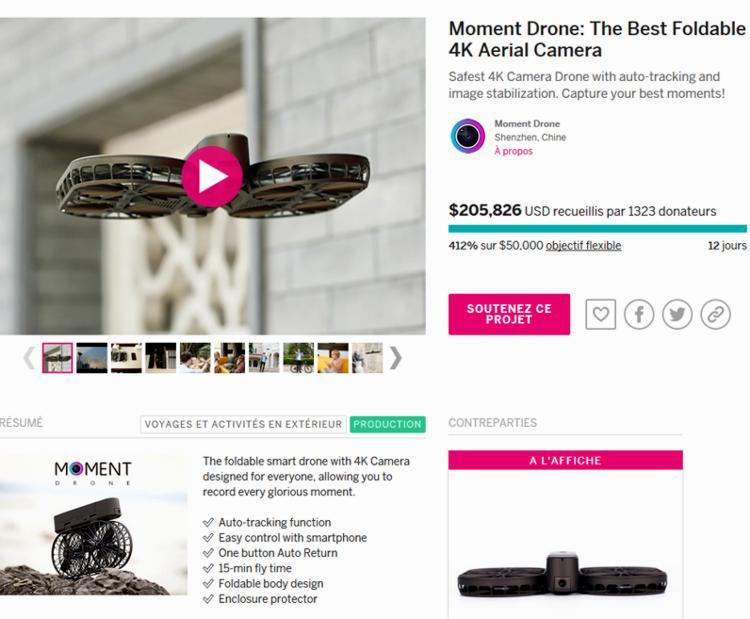17 Indiegogo Drone