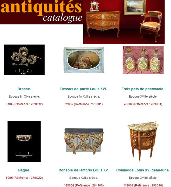 20 Antiquites Catalogue