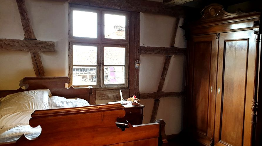 20 Ecomusee Alsace Ungersheim Chambre