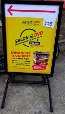 19 Festival Lumiere 2019 Salon du DVD