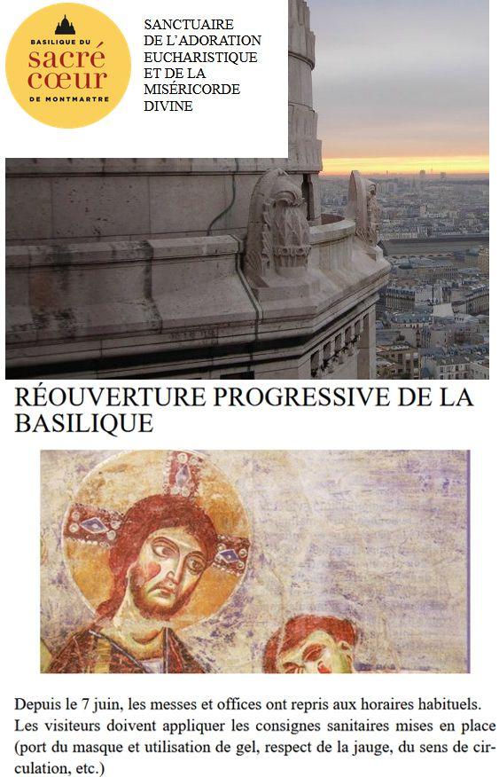 20 Basilique Sacre Coeur Paris Montmartre 7 juin 2020