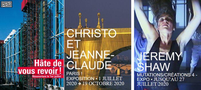 20 Centre Pompidou Paris 1 juillet 2020