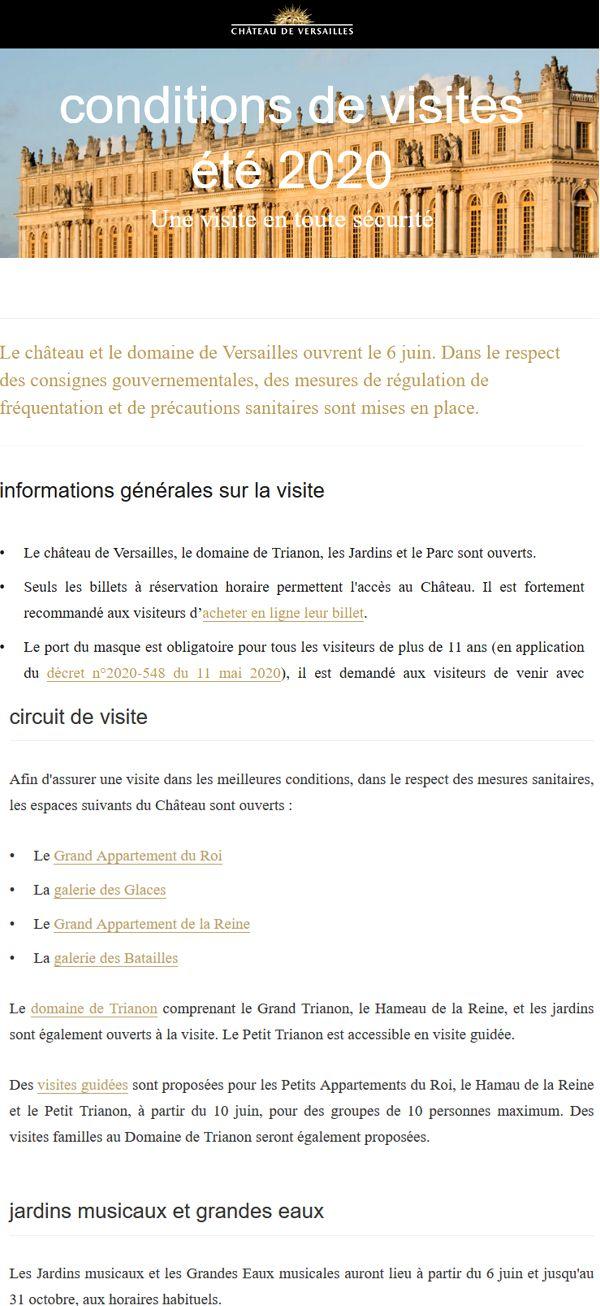 20 Chateau Versailles 6 juin 2020