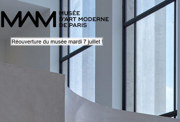 20 Musee Art Moderne Paris 7 juillet 2020