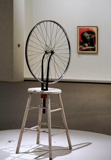 18 Expo Marcel Duchamp Roue Bicyclette