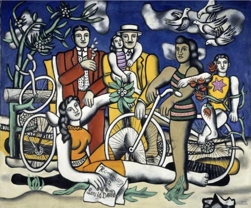 Expo Fernand Léger au Centre Pompidou de Metz