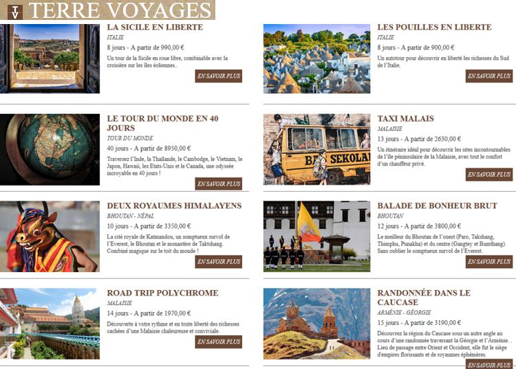 20 Terre Voyages